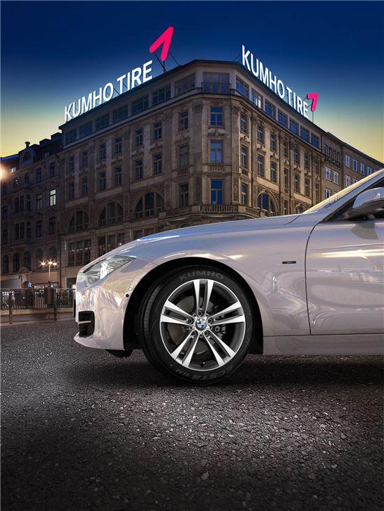 금호타이어, BMW 3 시리즈에 신차용타이어 공급 - 아시아경제