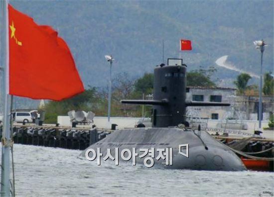 중국 위안급 디젤 잠수함