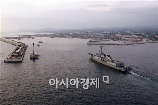 제주해군기지 전경<사진제공=해군>