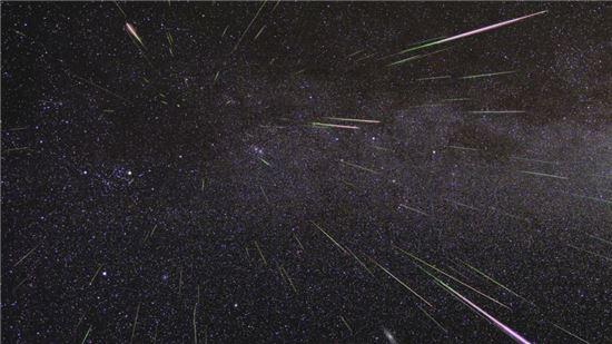 [스페이스]12일 밤하늘…유성우 볼 수 있다