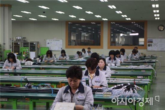 연합정밀은 케이블조립체와 커넥터는 물론 상호통화기 세트, 유ㆍ무선 통신장비 등 6만8000여종의 품목을 자체 생산하고 있다.