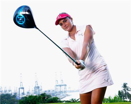 세계랭킹 4위 렉시 톰프슨은 호쾌한 장타로 '흥행카드' 역할을 톡톡히 수행하고 있다.