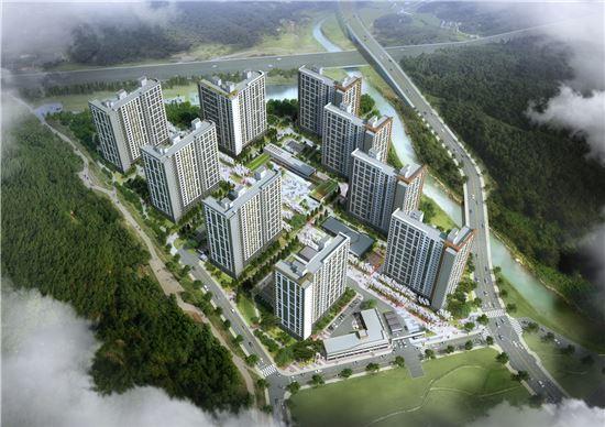 한화건설, '인천 서창 꿈에그린' 10월28일 오픈