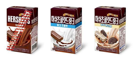 매일유업, '허쉬 초콜릿 드링크' 리뉴얼 출시