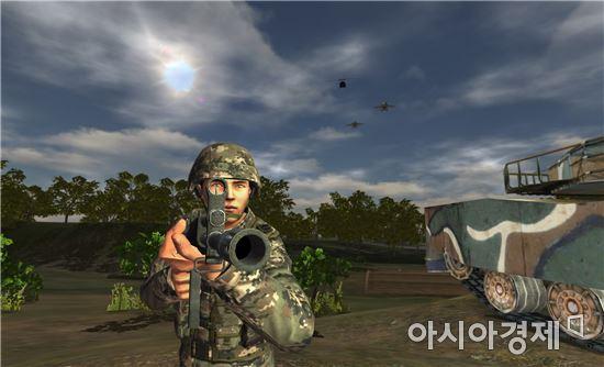소부대 전술훈련용 게임(RealBX)