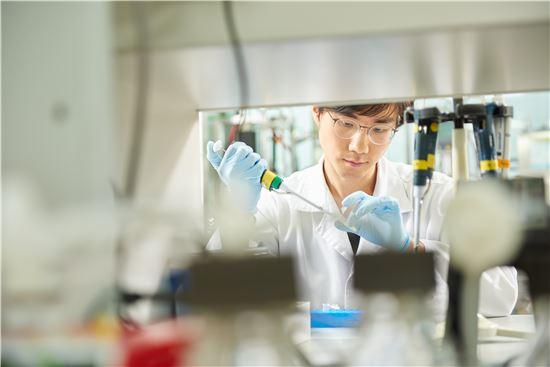 한미약품 신약개발 연구 모습