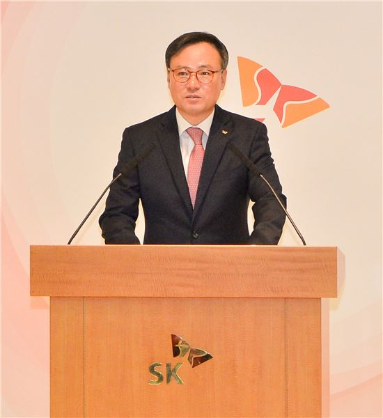 장동현 SK주식회사 CEO(제공= SK주식회사)
