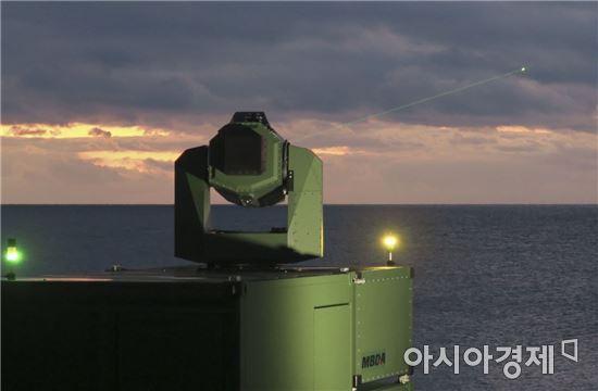 독일이 개발중인 레이저무기 시스템