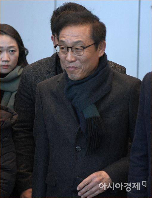 [포토]삼성사장단회의 참석한 김기남 반도체 사장