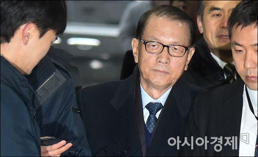 김기춘 전 청와대 비서실장