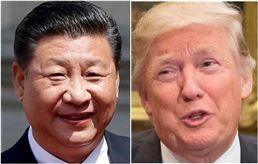 ▲시진핑 中 국가주석과 도널드 트럼프 美 대통령