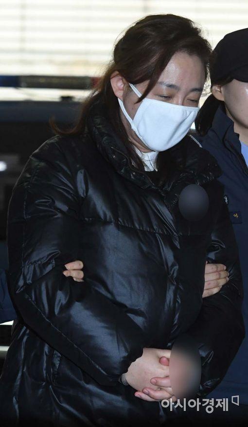 '비선진료' 박채윤 눈물