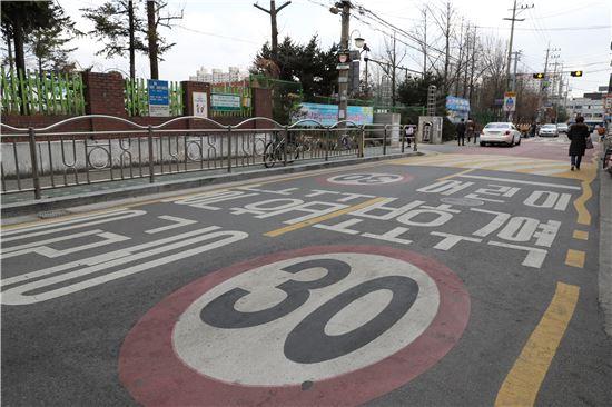 [2017 국감]초등학교 1818곳 보행로 없어…'어린이 안전 위험'