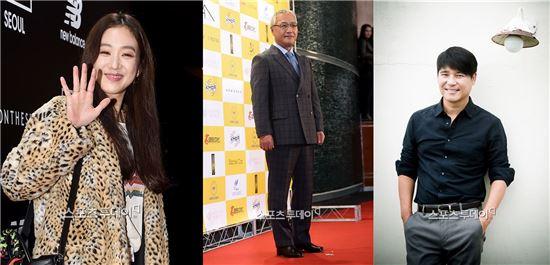 왼쪽부터 배우 정려원, 이경영, 임창정/사진=아시아경제DB