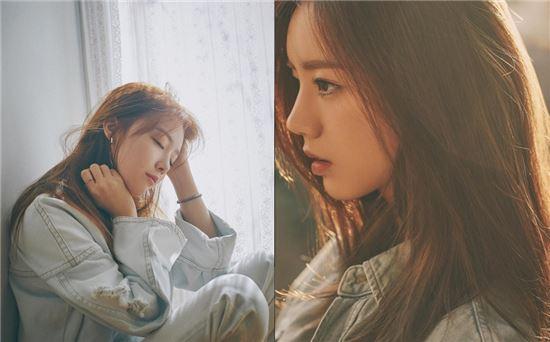 걸스데이 민아(좌)와 혜리/사진=걸스데이 공식 인스타그램