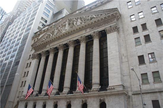 [뉴욕마감]은행 호실적에도 하락마감…랠리 멈추고 관망세