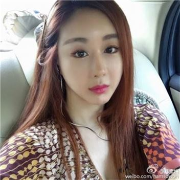 배우 함소원/사진=함소원 웨이보 캡처