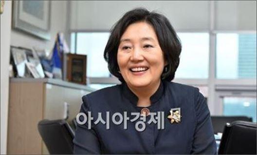 박영선 더불어민주당 선대위 공동선대위원장