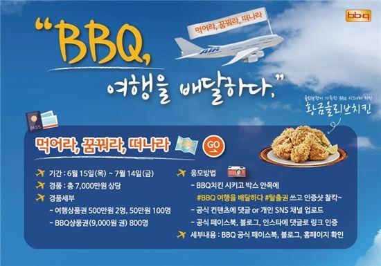 """비비큐 """"치킨 먹고, 해외여행 가자"""""""