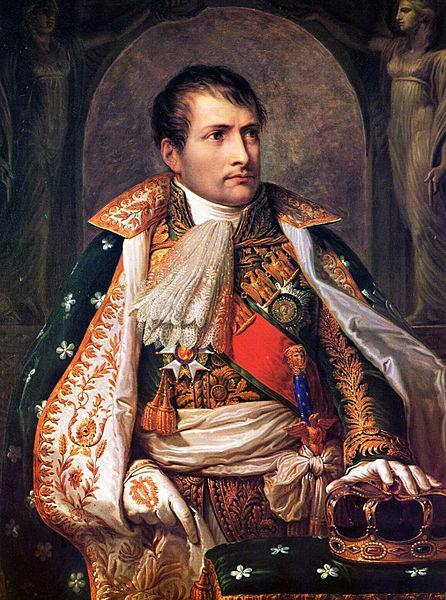 1803년, 루이지애나를 미국에 매각한 나폴레옹 초상화. 매각 이듬해인 1804년, 나폴레옹은 유럽 전선에서 대승을 거두며 황제에 즉위했다.(사진=위키피디아)