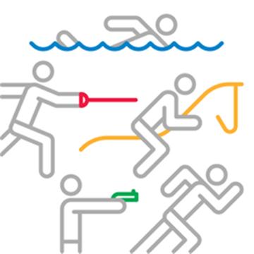 근대 5종 경기 엠블럼(사진=국제올림픽위원회)