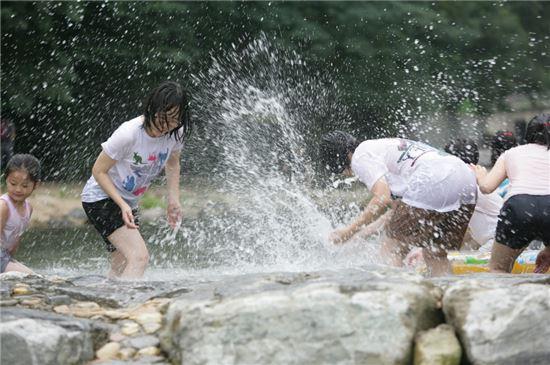 관악산계곡 물놀이장