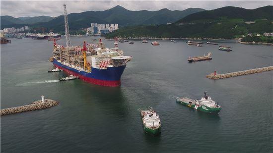 대우조선해양, 韓명예 건 20억弗 해양플랜트 수주 배수진