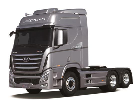 현대차 대형트럭 엑시언트 트랙터