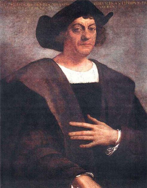 콜럼버스 초상화(사진=위키피디아)