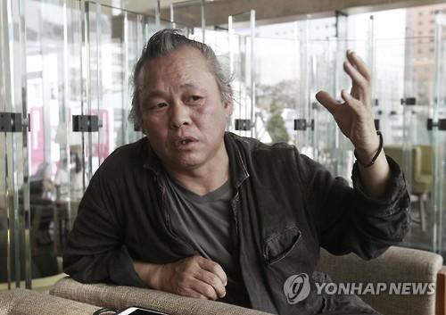 김기덕 감독 [AP=연합뉴스 자료사진]