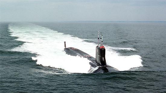 미국 시울프금 잠수함. 사진=미 해군 제공