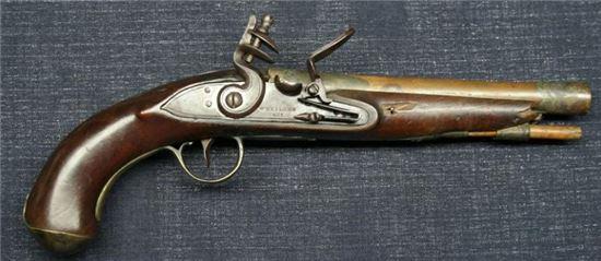 19세기 중엽까지 전장에서 주로 쓰였던 플린트락 머스킷(사진=위키피디아)
