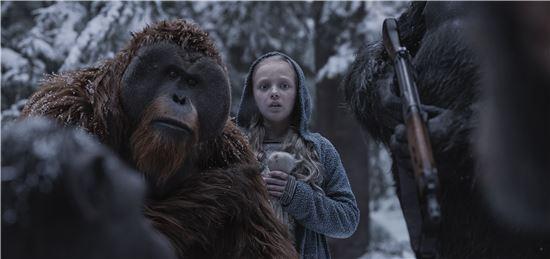 영화 '혹성탈출: 종의 전쟁' 스틸 / 사진=20세기폭스코리아 제공
