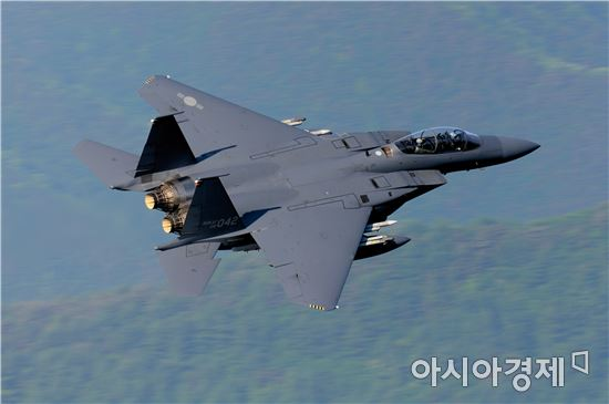 """<h1>공군 """"F-15K 조종사 2명 순직 확인""""(종합)</h1>"""