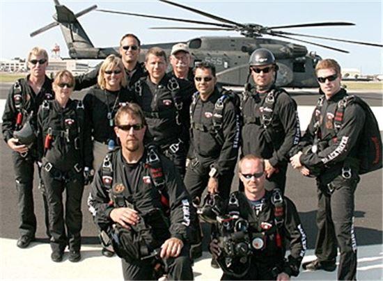 미국의 대표적인 민간군사기업 중 하나로 아카데미사의 전신이라 알려진 블랙워터 용병 모습(사진=위키피디아)