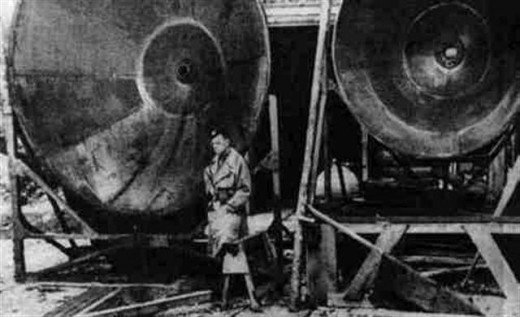 제2차 세계대전 당시 나치군이 사용한 음파병기의 모습. 비용과 규모에 비해 살상능력이 떨어져 당시에는 큰 효과를 내지 못했다. 사진 = wikimedia
