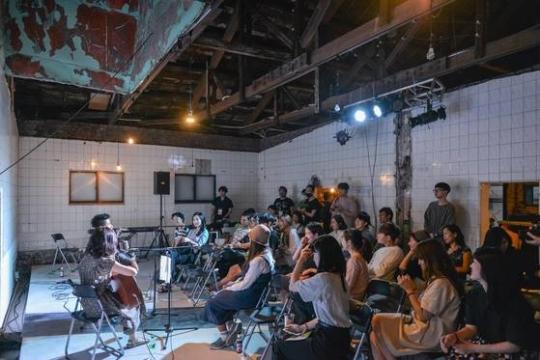 복합예술문화공간으로 탈바꿈한 '행화탕' 사진=축제행성 제공