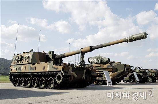 ▲K-9 자주포