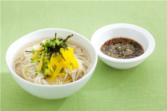 칠월 칠석의 시절음식 '밀국수'