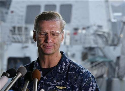 조지프 오코인 미 해군 7함대 사령관. (사진=EPA연합뉴스)