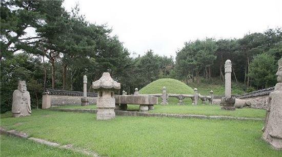 예종의 능인 창릉(昌陵)의 모습(사진=두산백과)