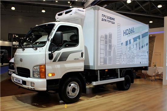 수출 전략형 중소형 트럭 HD36L