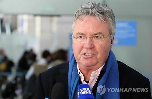 히딩크 전 한국 국가대표 감독[이미지출처=연합뉴스]
