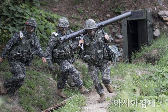 <h1>서북도서에 모인 해병대 최강전력</h1>