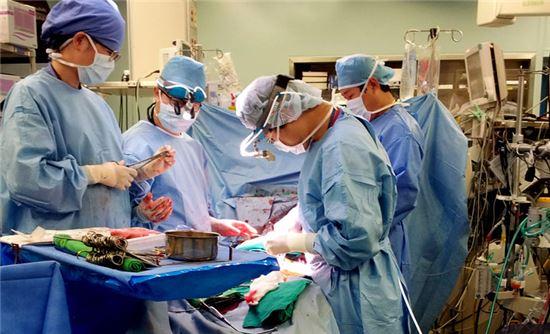 3세대 인공시장 수술 중 모습. 사진 = 삼성서울병원