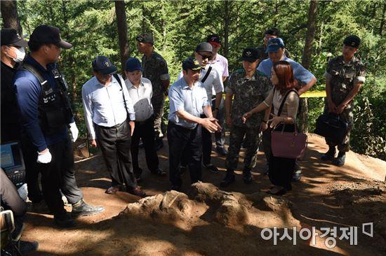 전사자 유해발굴기법 베트남에 전수