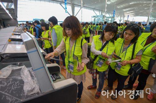 [포토]미리 만나는 인천공항 제2여객터미널