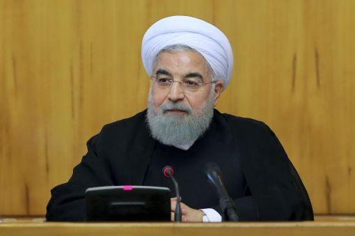 [이미지출처=AP연합뉴스] 하산 로하니 이란 대통령은 지난 11일 미국이 핵합의를 파기한다면 모두의 실패가 될 것이라고 말했다.