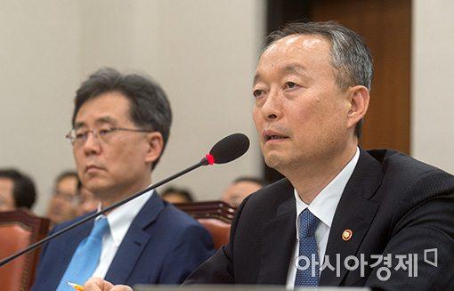 백운규 산업통상자원부 장관.