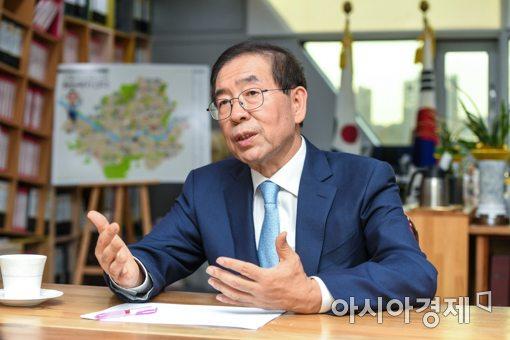 박원순 시장, '대한민국 소통 CEO 대상' 수상